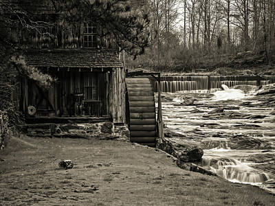 Digital Art - Old Sixes Mill by Elijah Knight