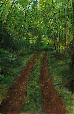 Painting - Old Skid Road by Sara Stevenson