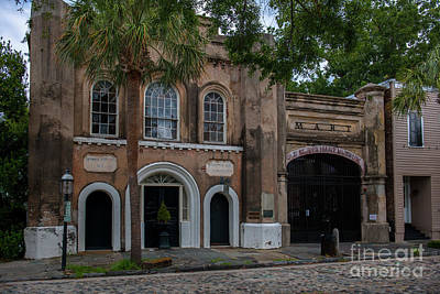 Photograph - Old Slave Mart Museum In Charleston South Carolina  by Dale Powell
