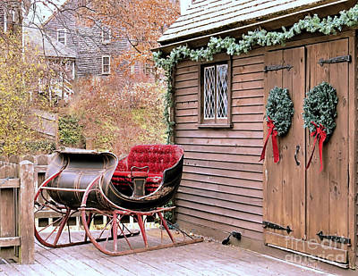 Photograph - Old Sleigh  by Janice Drew