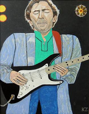 Painting - Old Slowhand. by Ken Zabel