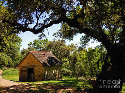 Old Smokehouse Art Print