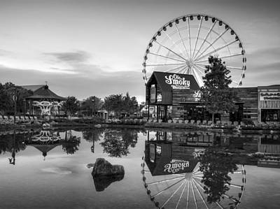 Old Photograph - Ole Smoky Tennessee Moonshine Reflection In Black And White by Greg Mimbs
