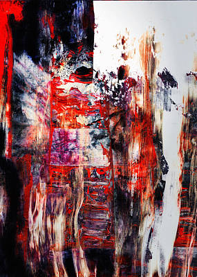 Modern Painting - Old Souls - Abstract Colorful Mixed Media Painting by Modern Art Prints