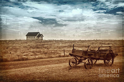 Photograph - Old South Dakota Town by Sharon Seaward