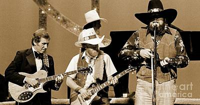 Grand Ole Opry Digital Art - Old Southern Boys by John Malone