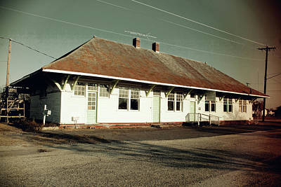 Photograph - Old Southern Railway Depot Vintage by Joseph C Hinson Photography