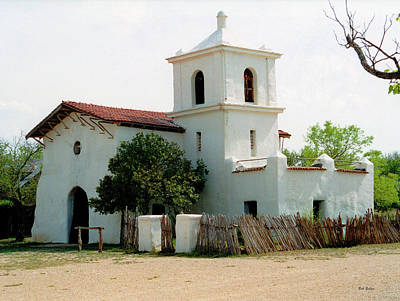 Photograph - Old Spanish Mission by Bob Zeller
