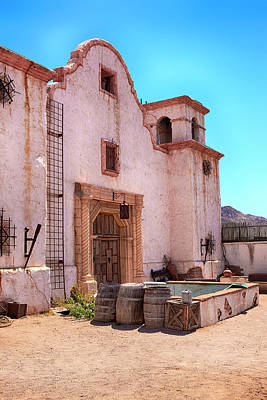 Photograph - Old Spanish Mission Tucson by Chris Smith