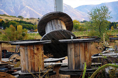Photograph - Old Spool by Bryan Carter