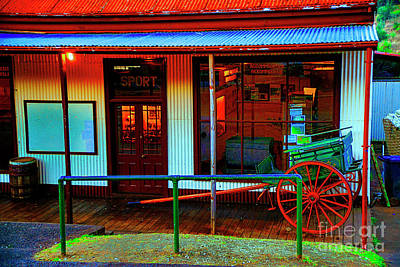 Photograph - Old Sport Shop by Rick Bragan