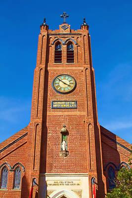 Photograph - Old St. Mary's Church by Bonnie Follett