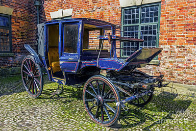 Photograph - Old Stagecoach by Ian Mitchell