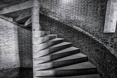 Photograph - Old Stairs Ft Point  by Garry Gay