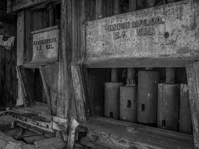 Gray's Stamp Mill Art Print by Michele  James