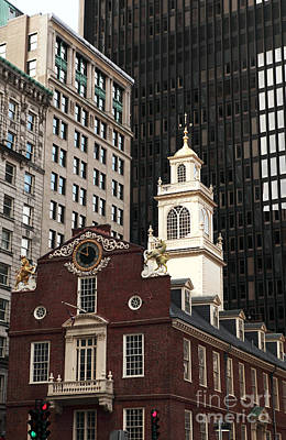 Photograph - Old State House by John Rizzuto