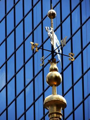 Photograph - Old State House Weathervane by Vince Green