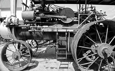 Photograph - Old Steam Engine by Mary Bedy