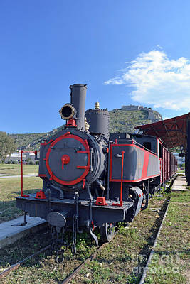 Photograph - Old Steam Train In Nafplio Town by George Atsametakis