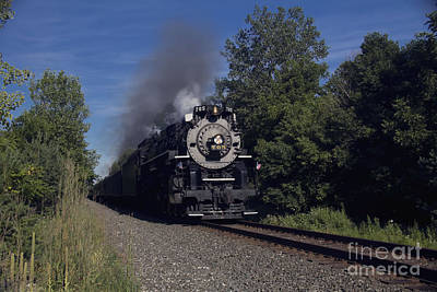 Photograph - Old Steamer 765 by Jim Lepard