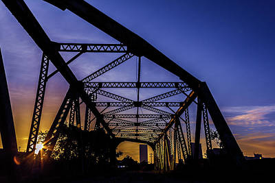 Photograph - Old Steel Bridge by Kenny Thomas