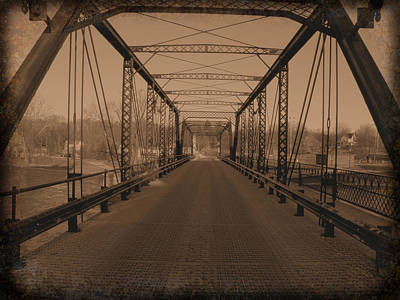 Photograph - Old Steel Bridge by Scott Hovind