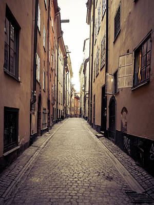 Photograph - Old Stockholm by James Billings
