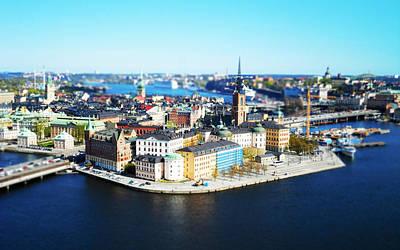 Brindle Photograph - Old Stockholm by Scott Brindle