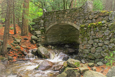 Photograph - Old Stone Bridge by Donna Kennedy