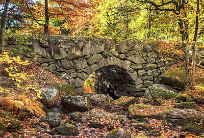Photograph - Old Stone Bridge by Gordon Ripley