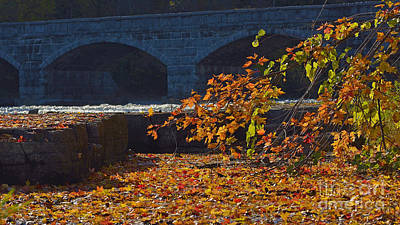 Photograph - Old Stone Bridge by Joshua McCullough