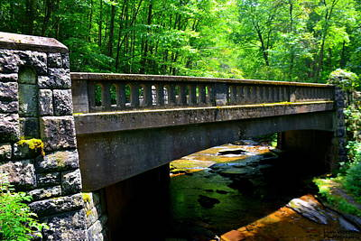 Photograph - Old Stone Bridge by Lisa Wooten