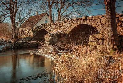 Photograph - Old Stone Bridge by Sophie McAulay