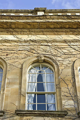 Old Stone Building Art Print by Tom Gowanlock