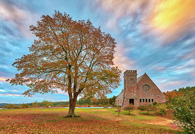 Photograph - Old Stone Church by Juergen Roth