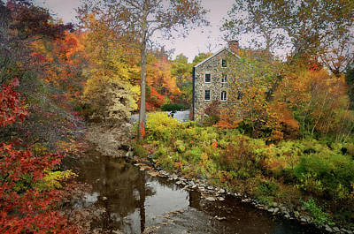 Photograph - Old Stone Mill by Diana Angstadt