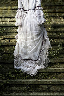 Garment Photograph - Old Stone Stairs by Joana Kruse