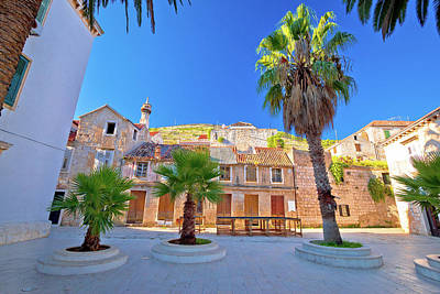 Photograph - Old Stone Street In Town Of Vis by Brch Photography