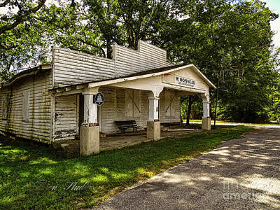 Photograph - Old Store In Dewitt Virginia by Melissa Messick