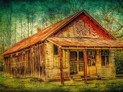 Old Store Art Print by Phillip Burrow