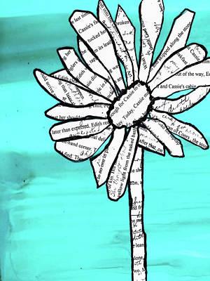 Mixed Media - Old Stories Daisy by Cynthia Matthews