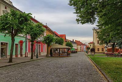 Photograph - Old Street In Kezmarok, Slovakia by Elenarts - Elena Duvernay photo