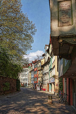 Photograph - Old Street In Lindau, Germany by Tatiana Travelways