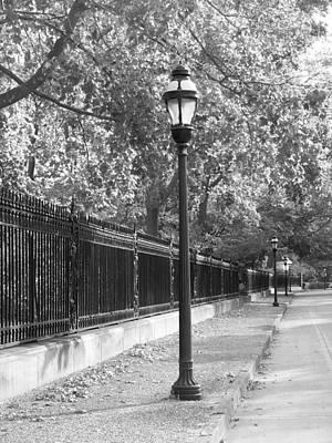 Photograph - Old Street Lights by Amanda Vouglas
