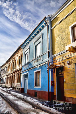 Building Photograph - Old Streets by Gabriela Insuratelu