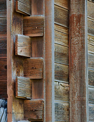 Photograph - Old Structure Construction by Kae Cheatham