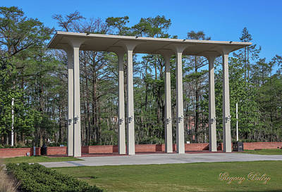 Photograph - Old Student Union Arches by Gregory Daley  PPSA