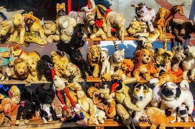 Photograph - Old Stuffed Animals by Garry Gay