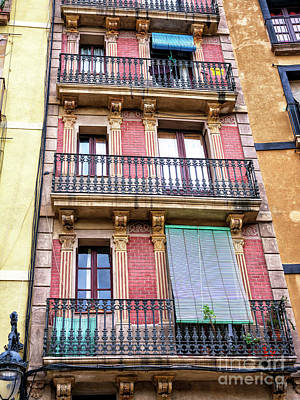 Photograph - Old Style In Barcelona by John Rizzuto