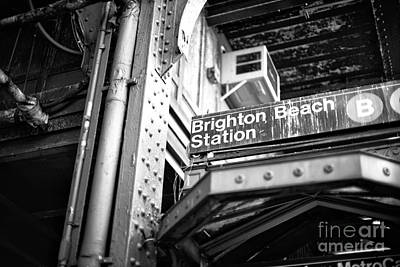 Photograph - Old Subway Station by John Rizzuto